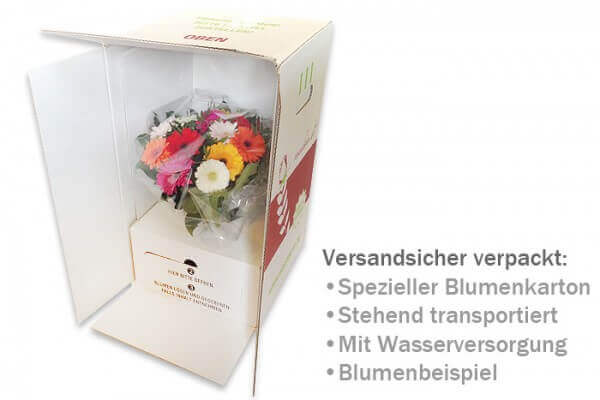Bouquetverpackung