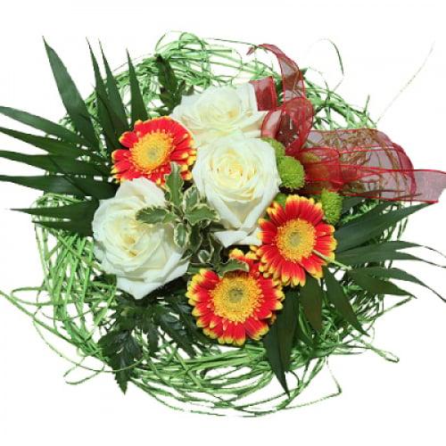 Strauß Blumenbouquet-Gute-Laune online kaufen - Rosenbote